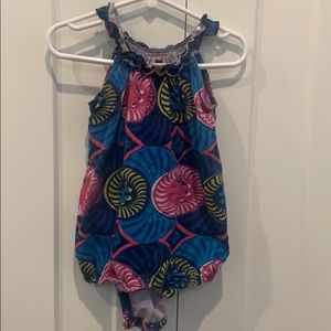 Tea Collection romper, 12-18 months